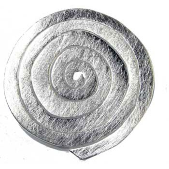 Brosche, Silber, Spirale