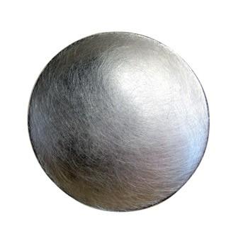 Zweifingerring,Parabol, Silber, Icematt