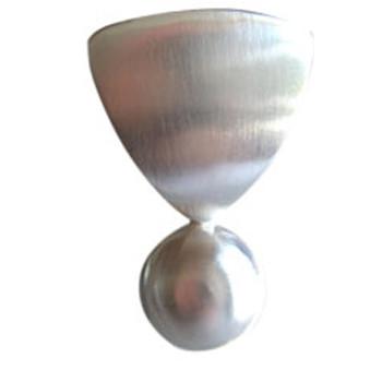 Silberanhänger, feinmatt mit beweglicher Kugel