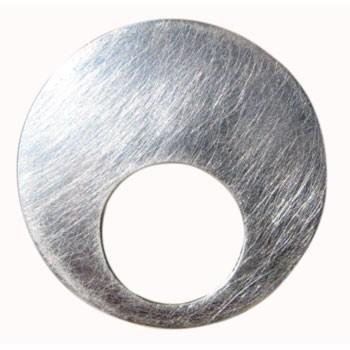 Hänger grobmattiert  Durchmesser ca. 50 mm  siehe auch E 590m