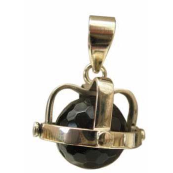 Hänger Onyx Durchmesser ca. 14 mm