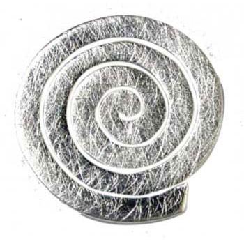 Ohrstecker , Silber, Spirale