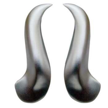 Ohrhänger  ca 45 x 10 mm,