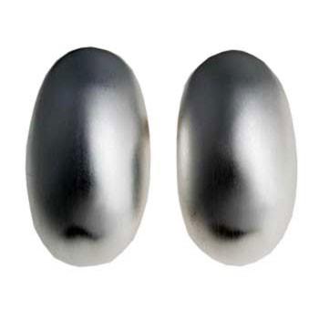 Ohrstecker, Silber,feinmatt ca. 17 x 8 mm