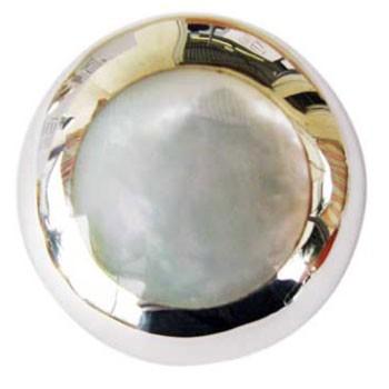 Hänger Perlmutt, Durchmesser ca. 30mm