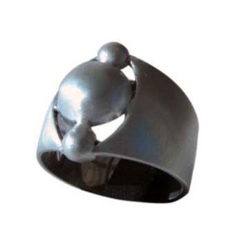 Ring , Silber,oben ca. 15c mm breit