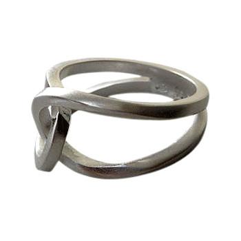 Silberring infinity von Plata Pa`Ti Design Silberschmuck von Jörg Wilitzki