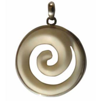 Hänger Horn Durchmesser ca. 33 mm
