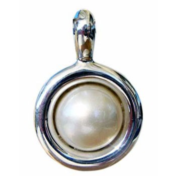 Hänger MabeePerle Durchmesser ca. 25 mm