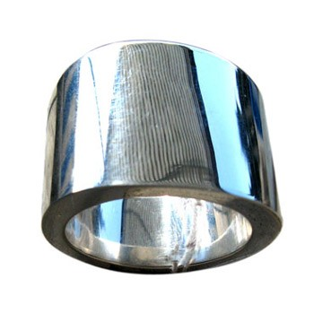 Ring, Silber, poliert,